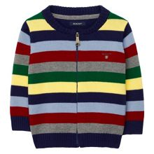 Boys Multistriped Cotton Jacket