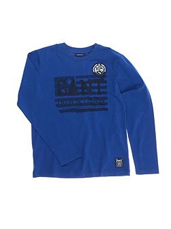 Boys Downtown Long-Sleeved T-Shir