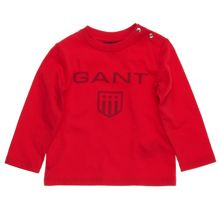 Gant Boys Shield  Long-Sleeved T-Shirt