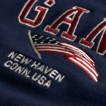 Gant Boys Flag Crewneck Sweatshirt