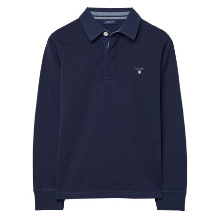 Gant Boys Solid Heavy Rugger