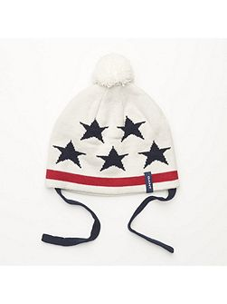 Gant Boys Stars & stripes knit beanie
