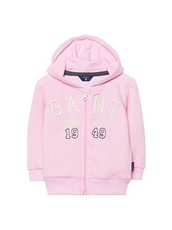 Baby girls sc. gant zip hood
