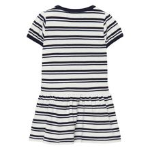 Gant Baby girls sc. striped pique dress
