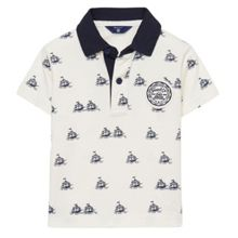 Gant Baby boys sc. ss rugger allover print