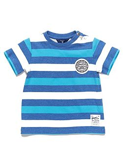 Baby boys sc. striped ss tshirt