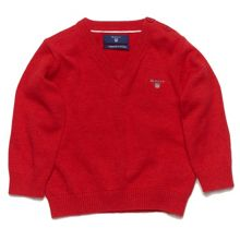 Gant Baby boys lt weight cotton v-neck