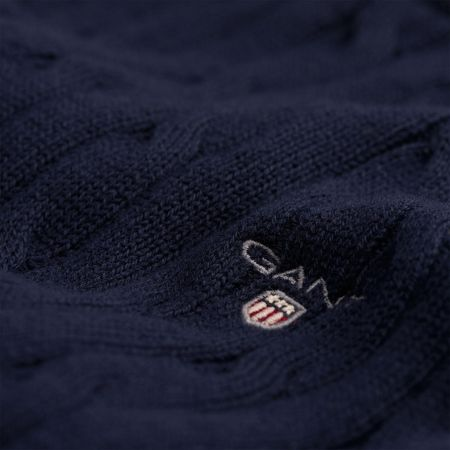 Gant Boys sc. cotton cable crewneck
