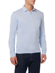 Gant Long Sleeve Oxford Pique Polo