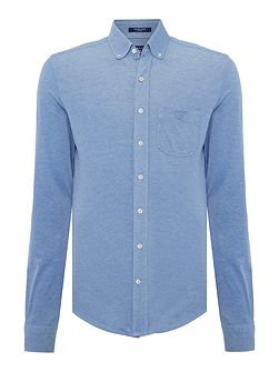 Pique Long Sleeve Shirt
