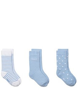 Babies nb. sock 3 pack