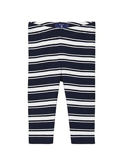 Baby boys sc. striped leggings