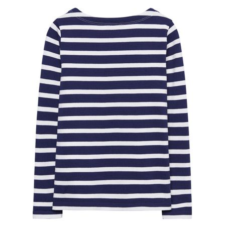 Gant Girls Breton Striped Boatneck Sweater