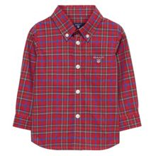 Gant Boys Tartan Plaid Shirt