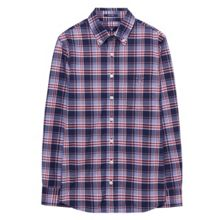 Gant Boys Tech Prep Plaid Shirt
