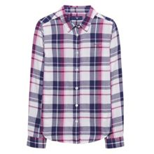 Gant Girls Flannel Checked Shirt