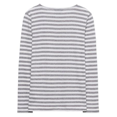 Gant Girls Striped Rib T-Shirt