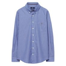 Gant Boys Broadcloth Pinstriped Shirt