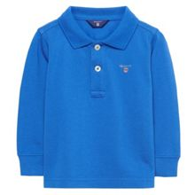 Gant Boys Long-Sleeve Cotton Polo