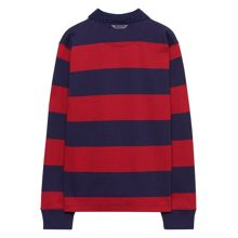Gant Boys Striped Rugby Shirt