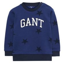 Gant Boys Star Crew Sweatshirt