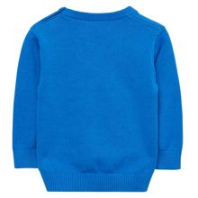 Gant Baby Boy Cotton V-Neck Jumper