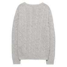 Gant Boys Lambswool Cable Crew Sweater