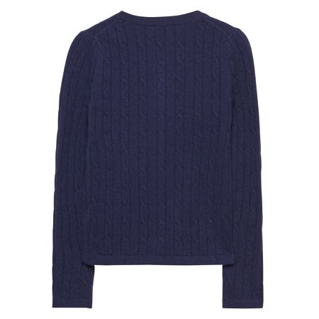 Gant Girls Frilled Cable Cardigan