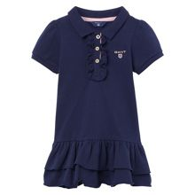 Gant Baby Girls Frill Pique Dress