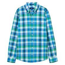 Gant Boys Madras Checked Shirt