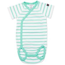 Polarn O. Pyret Baby Striped Short Sleeved Bodysuit