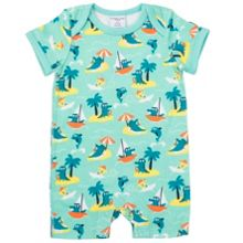 Polarn O. Pyret Babies Crododile and Dolphin Romper