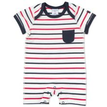 Polarn O. Pyret Babies Striped Romper