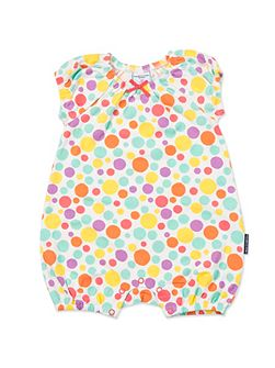Baby Girls Polka Dot Playsuit