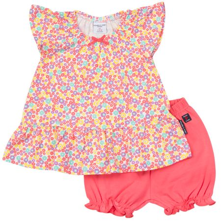 Polarn O. Pyret Baby Girls Dress and Shorts Set