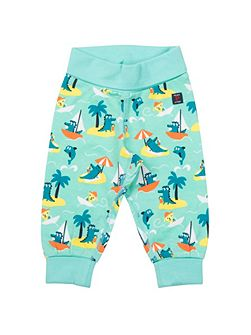 Babies Beach Print Trousers