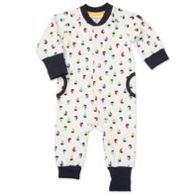 Polarn O. Pyret Babies Sailboat Print All-in-one