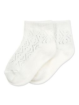 Baby Girls 2 Pack White Ankle Socks