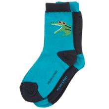Polarn O. Pyret Boys 2 Pack Crocodile Socks
