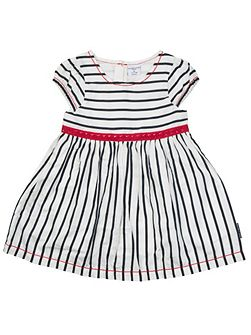 Baby Girls Nautical Striped Dress
