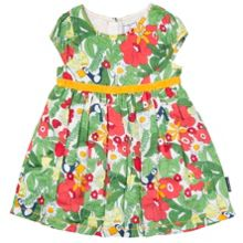 Polarn O. Pyret Baby Girls Meadow Print Dress
