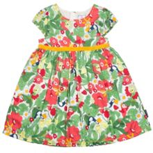 Polarn O. Pyret Girls Meadow Print Dress