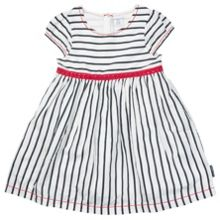 Polarn O. Pyret Girls Nautical Striped Dress