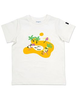 Kids Beach Print T-Shirt