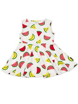 Baby Girls Melon Print Dress