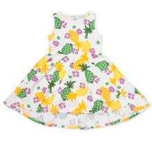 Polarn O. Pyret Girls Tropical Print Dress