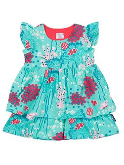 Baby Girls Ruffle Dress
