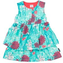 Polarn O. Pyret Girls Ruffle Dress