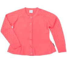 Polarn O. Pyret Girls Cotton Cardigan