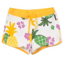 Polarn O. Pyret Girls Tropical Print Shorts